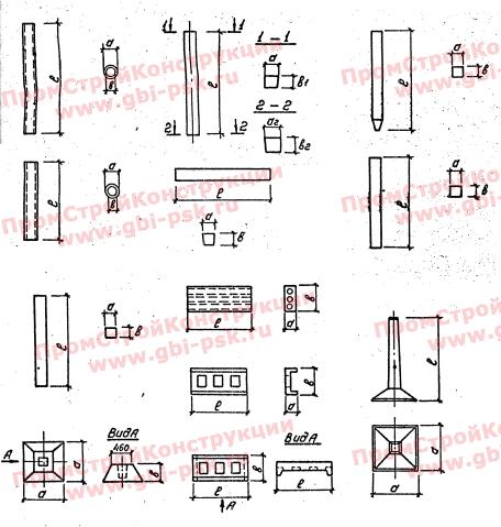 Унифицированные изделия подстанций 35-500 Кв. Серия 3.407-102, выпуск 1