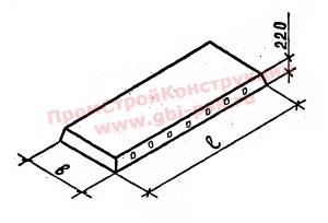 Железобетонные сплошные панели перекрытий