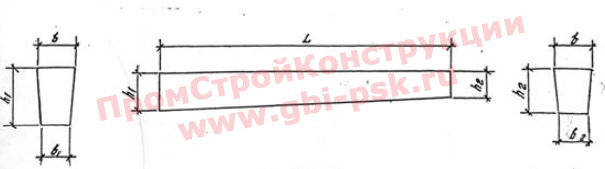 Стойки для опор воздушных линий электропередач 0,38-35 кВ (СВ95-СВ164)