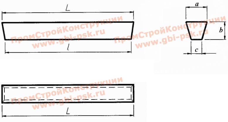Железобетонные приставки для воздушных ЛЭП до 35 кВ. Серия 3.407-57/87