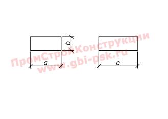 Блоки фундамента БФ — Серия 3.501.1-144, шифр 1484