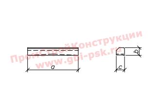 Блоки кордона — Шифр 2119РЧ Выпуск 1-1