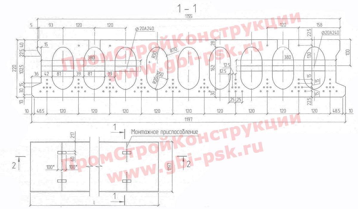 Конструкция плит ПБ (нажмите для увеличения)