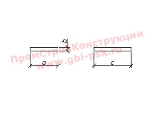 Плиты фундаментов — Серия 3.501-104