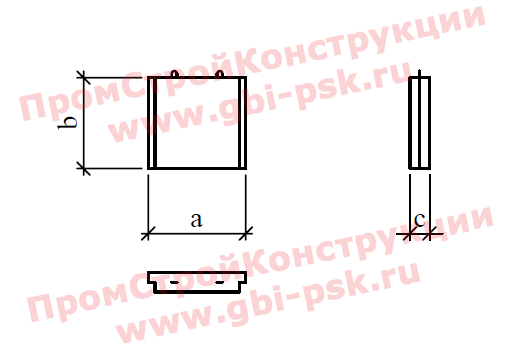 Блоки экрана — Шифр 2068Р, выпуск 1