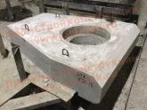 Железобетонные портальные стенки СТК для круглых водопропускных труб