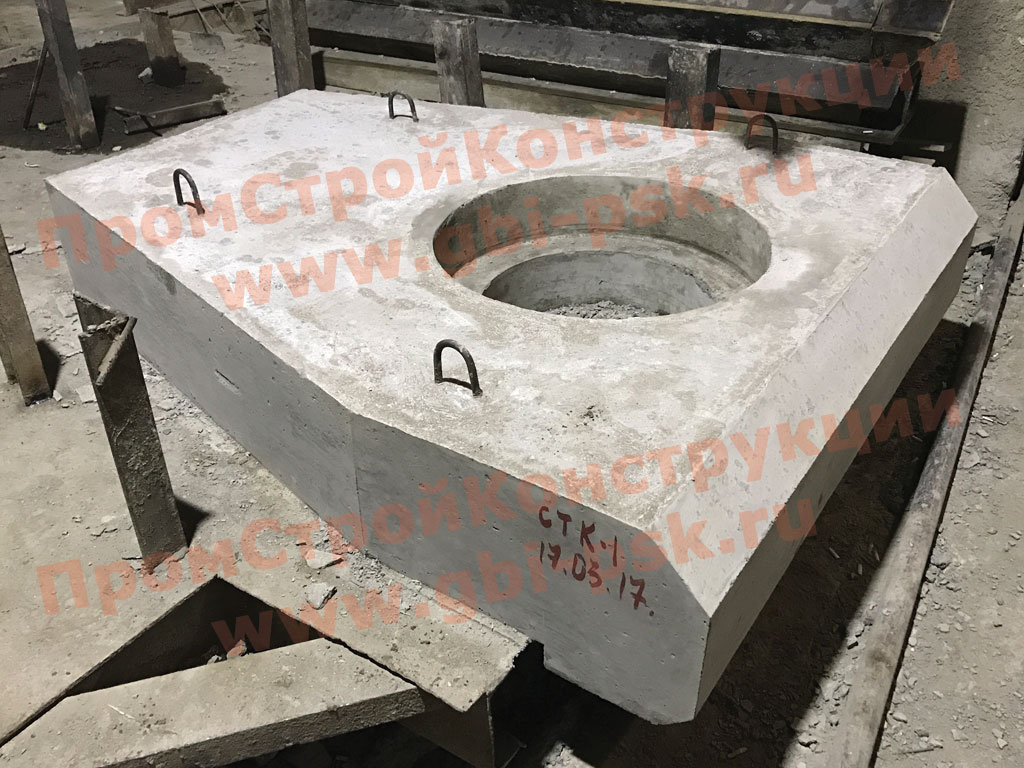 Производство ЖБИ для круглых водопропускных труб 3.501.1-144 шифр 1484