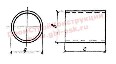 Звенья ЗК — Серия 3.501.1-144, шифр 1484