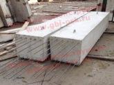 Лежни железобетонные для мостового строительства