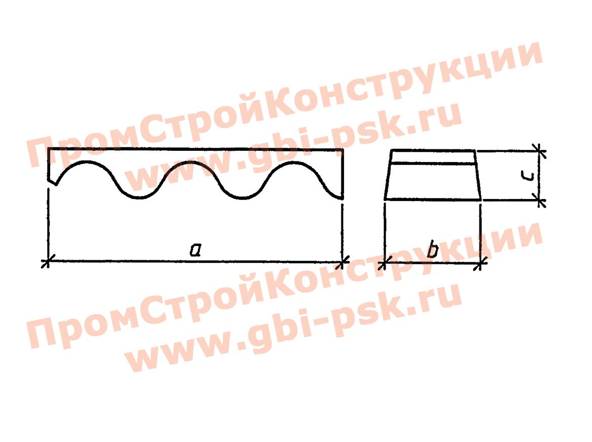 Блоки лотка — Серия 3.501.3-184.03