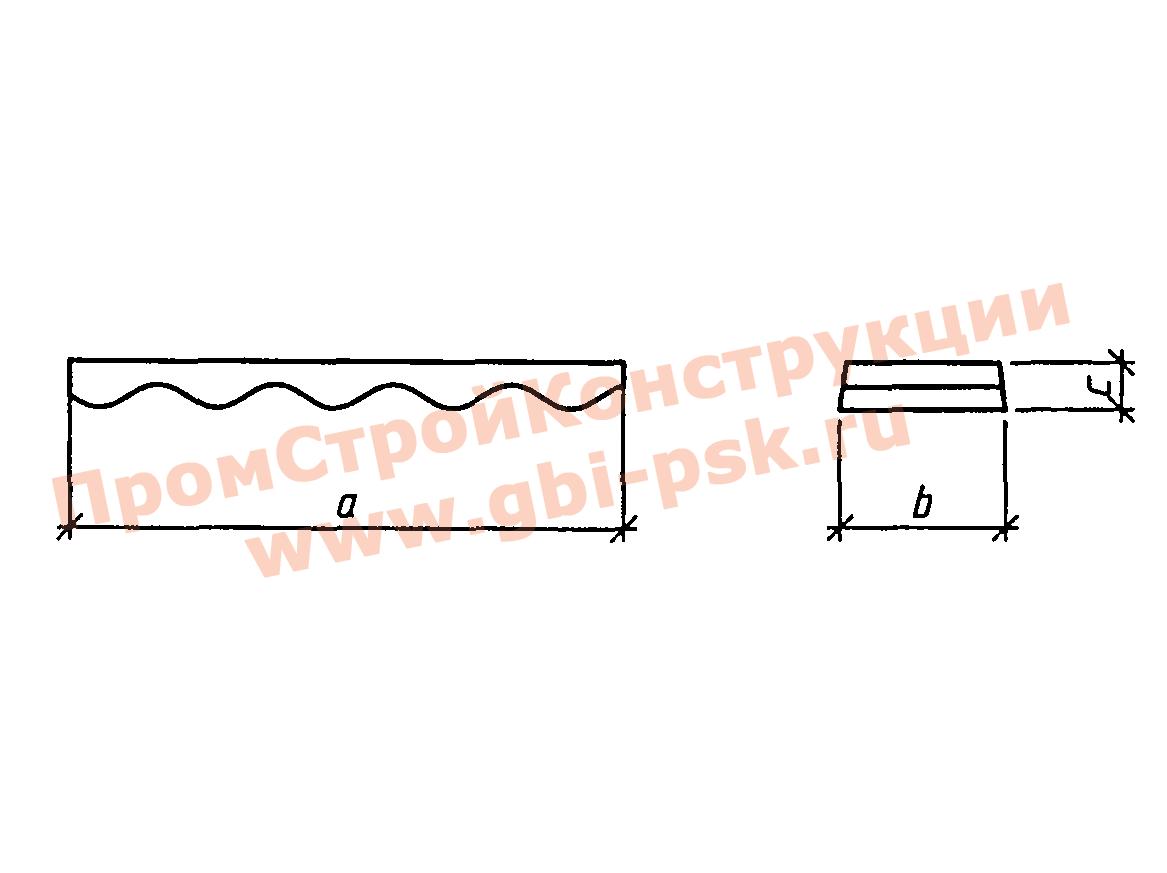 Блоки лотка — Серия 3.501.3-187.10