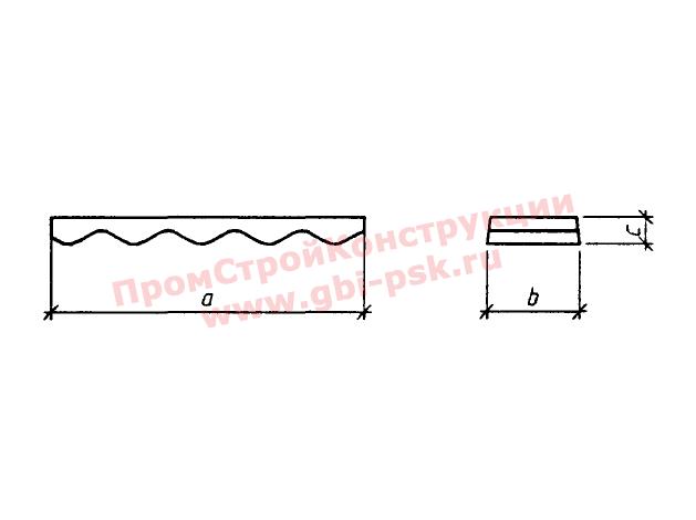 Блоки лотка — Серия 3.501.3-186.09