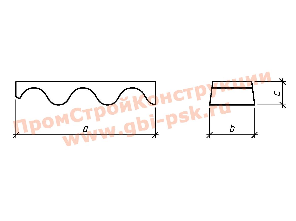 Блоки лотка — Серия 3.501.3-185.03