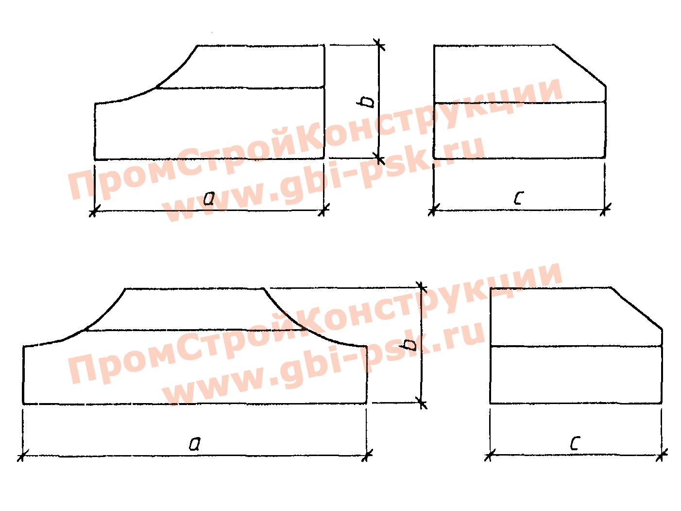 Лекальные блоки — Серия 3.501.3-183.01