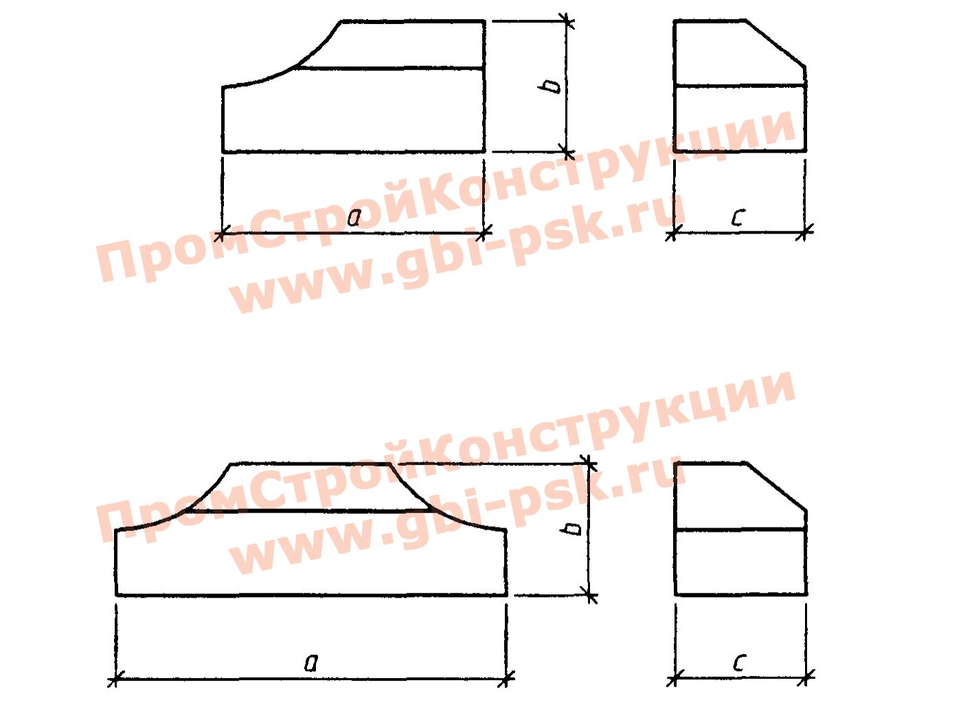 Лекальные блоки — Серия 3.501.3-186.09