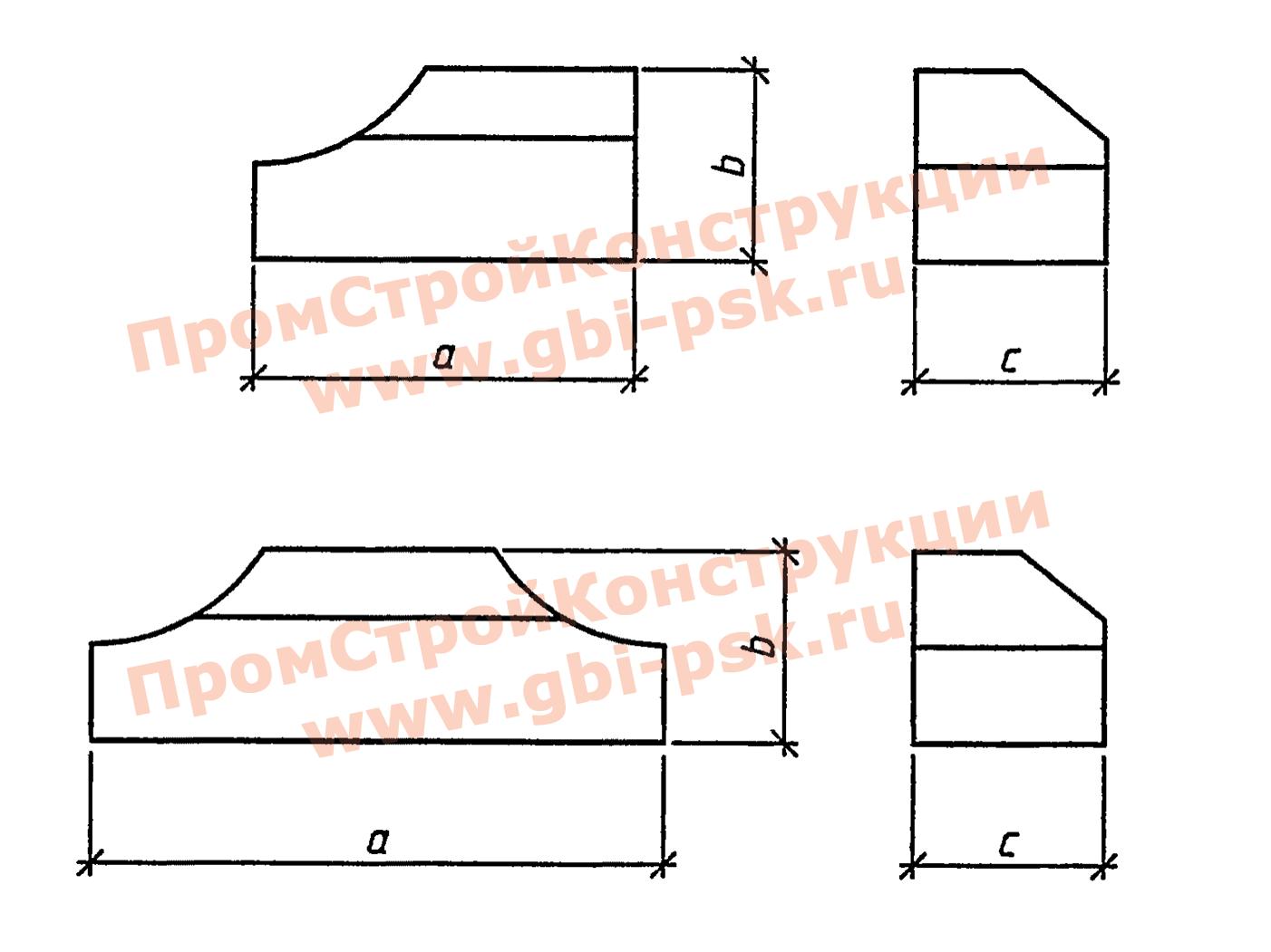Лекальные блоки — Серия 3.501.3-187.10