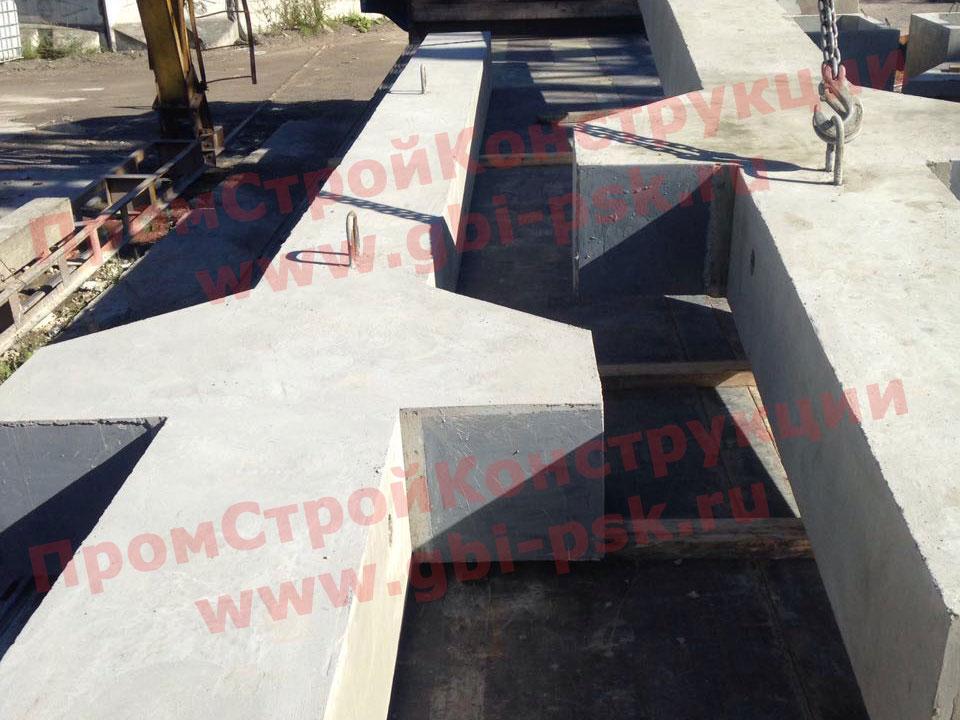 Производство железобетонных колонн для промышленного строительства