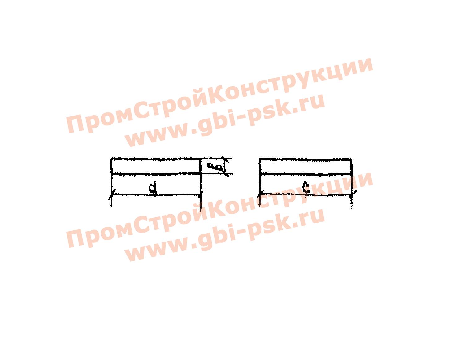 Блоки фундамента — Серия 3.501.1-144, выпуск 0-2