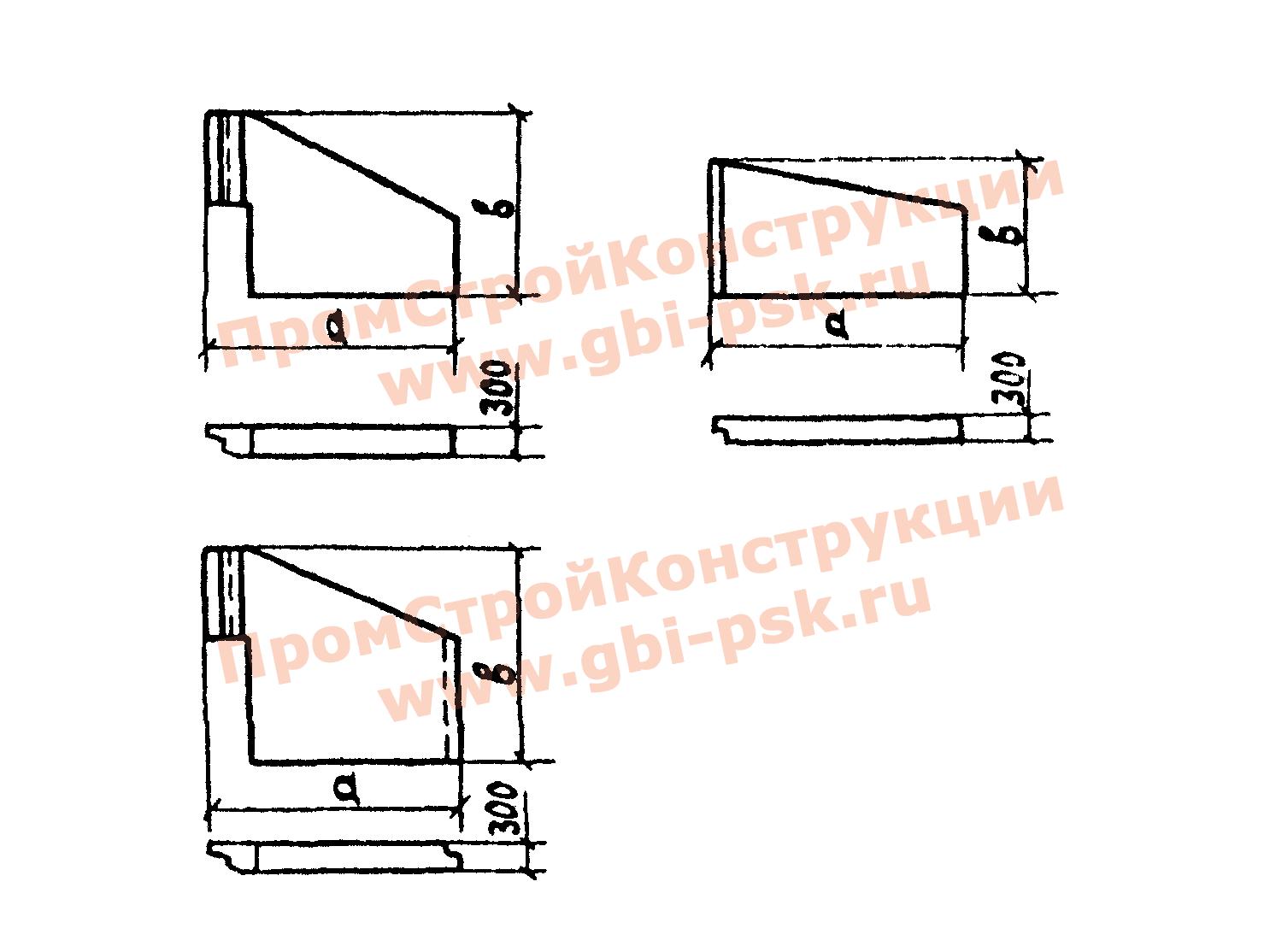 Стенки откосные — Серия 3.501.1-144, выпуск 0-2