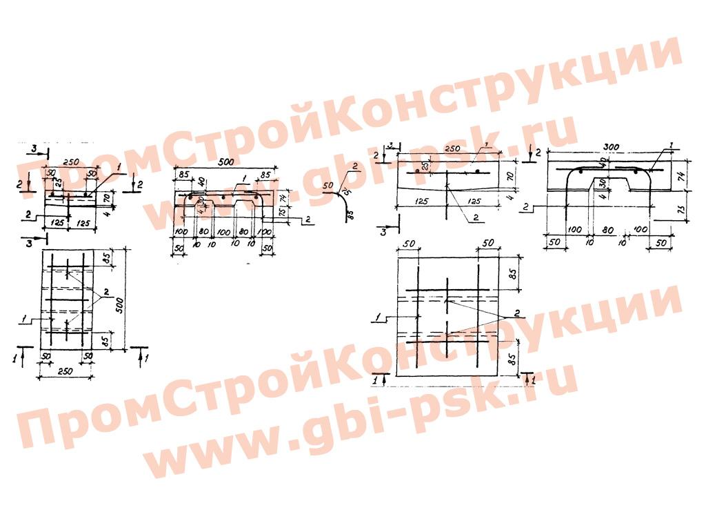 Тротуарные плиты, блоки перекрывающие. Серия 3.501.1-146