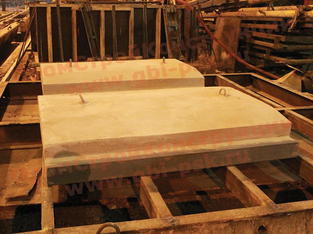 Производство плит ПП настила железнодорожных переездов