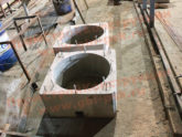 Стаканы железобетонные для крепления крышек вентиляторов, дефлекторов