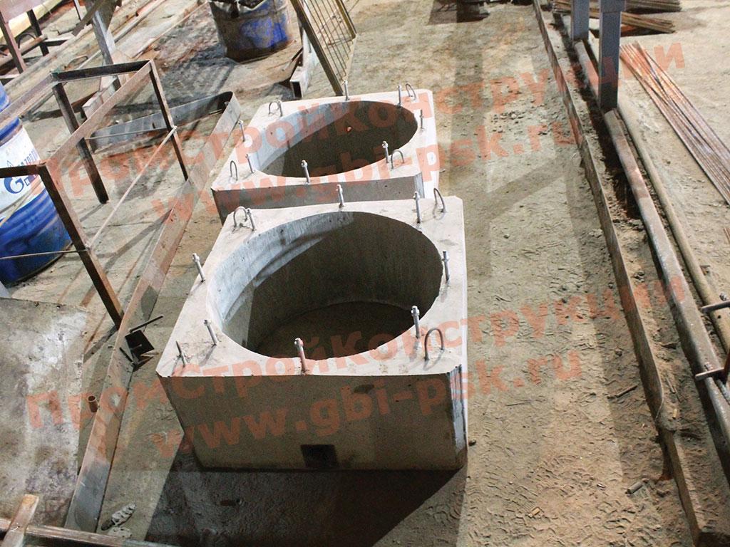 Производство стаканов железо-бетонных для крепления крышек вентиляторов и дефлекторов