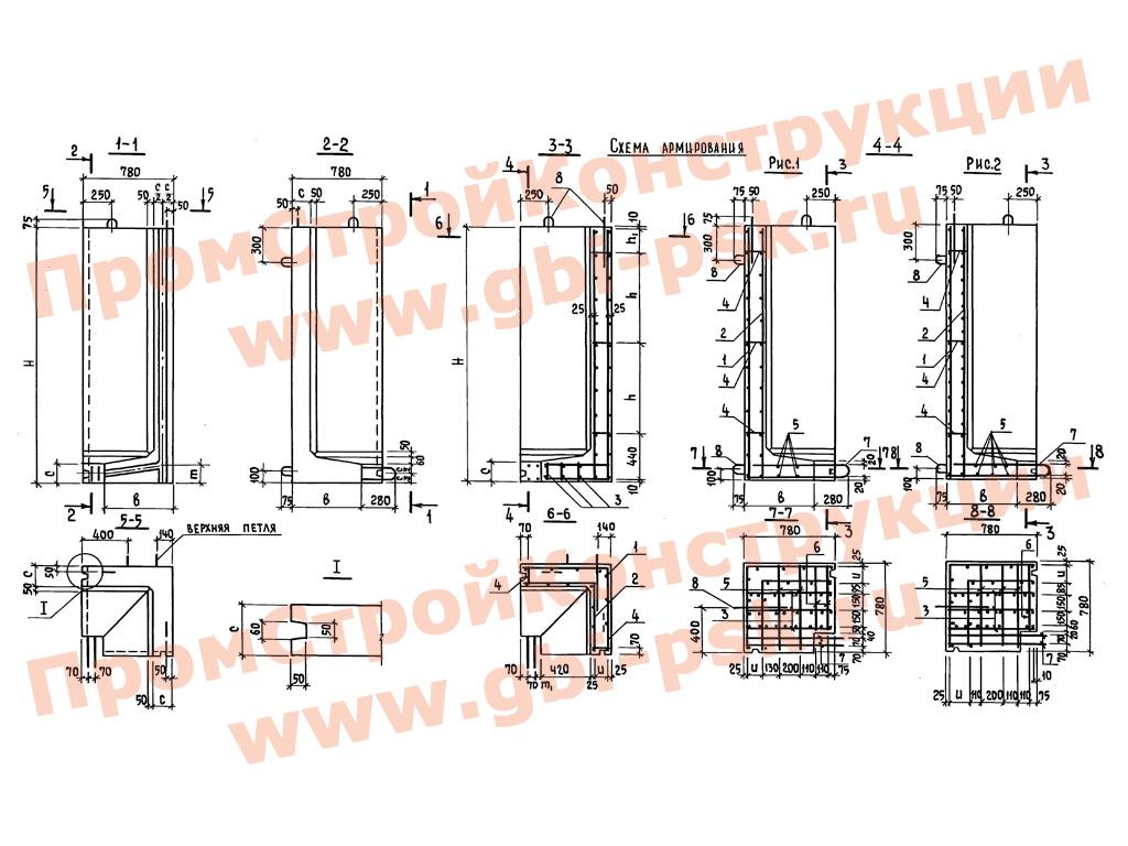 Сборные конструкции тоннелей. Серия 3.006.1-3/83
