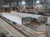 Производство стоек С-1 серии 3.501-61 (железобетонных стоек ригелей железнодорожных путепроводов)