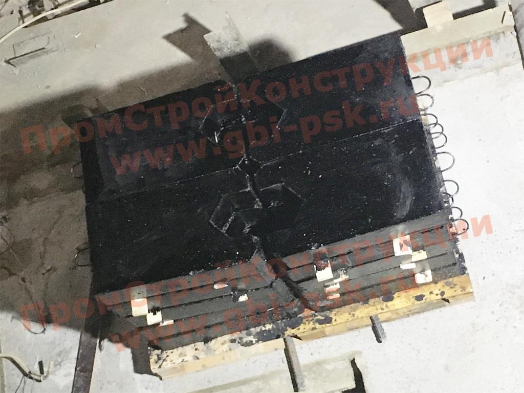 Производство ЖБИ для устройства конструкций автоматической очистки стрелочных переводов ТО-617 (ТПР 501-5-080-86)