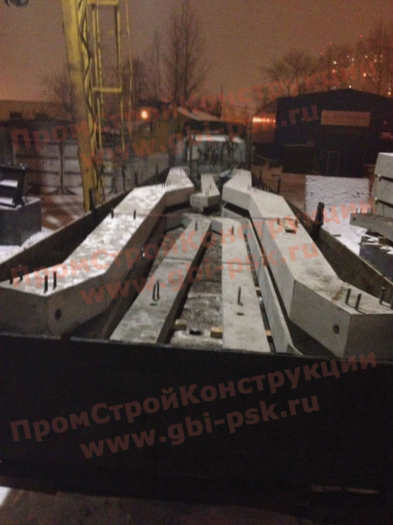 Увеличены мощности производства косоуров ЛБ серии 3.501.1-165