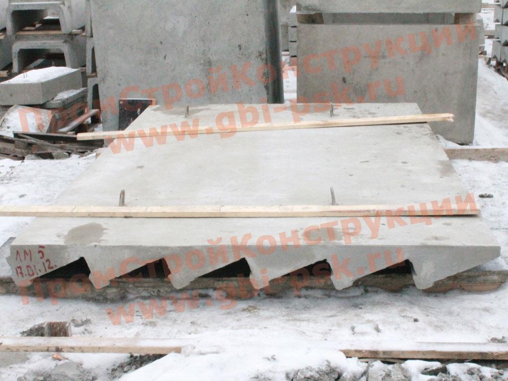 Производство элементов пешеходных мостов через железные дороги 3.501.1-165