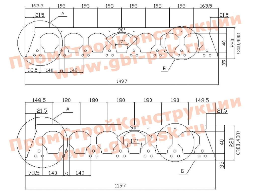 Плиты перекрытия железобетонные предварительно напряженные. ТУ 5842-001-01217316-05