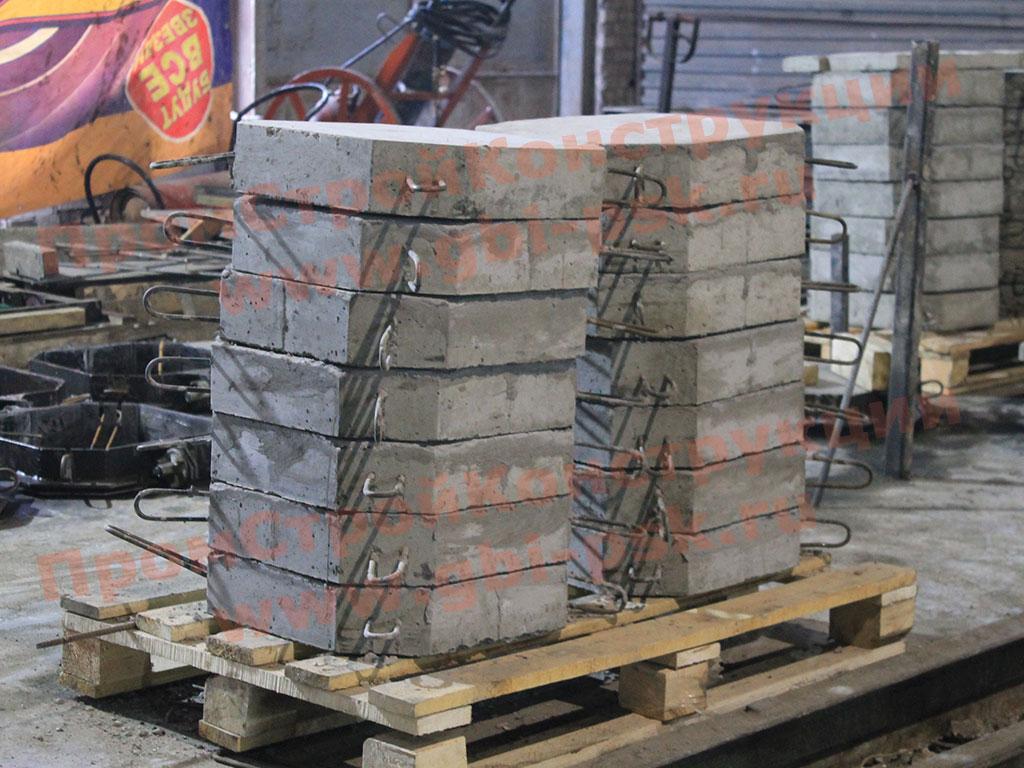 Производство плит П-1 укрепления откосов серии 3.501.1-156