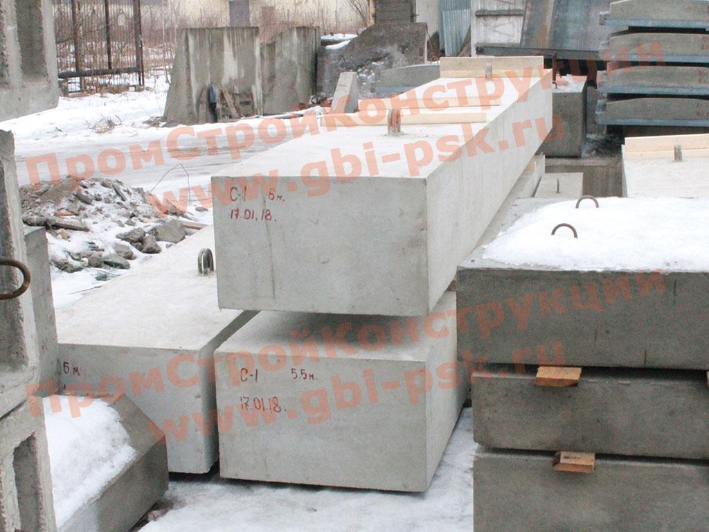 Производство железобетонных стоек ригелей для железнодорожных мостов серии 3.501-61