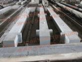 Завершена отгрузка 4-й очереди железобетонных колонн для строительства склада в Колтушах