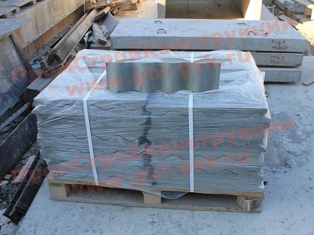 Блок лотка Л1 (130х32,5мм)