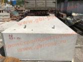 Выполнен интересный заказ на крупногабаритные железобетонные блоки устоя мостов по чертежам заказчика