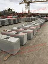 Завод ЖБИ в Краснодаре отгрузил крупные партии блоков упора и других ЖБИ серии 3.501.1-156