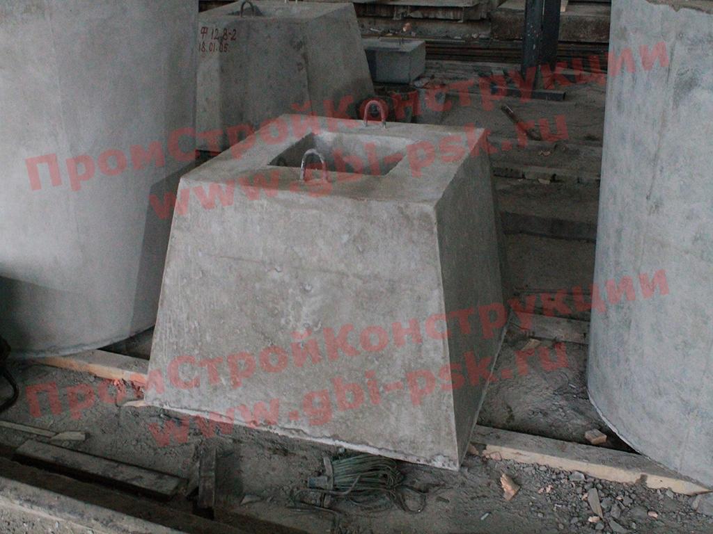 В январе 2018 вновь запущены в серийное производство ЖБИ фундаменты 1Ф12.8-2 для колонн