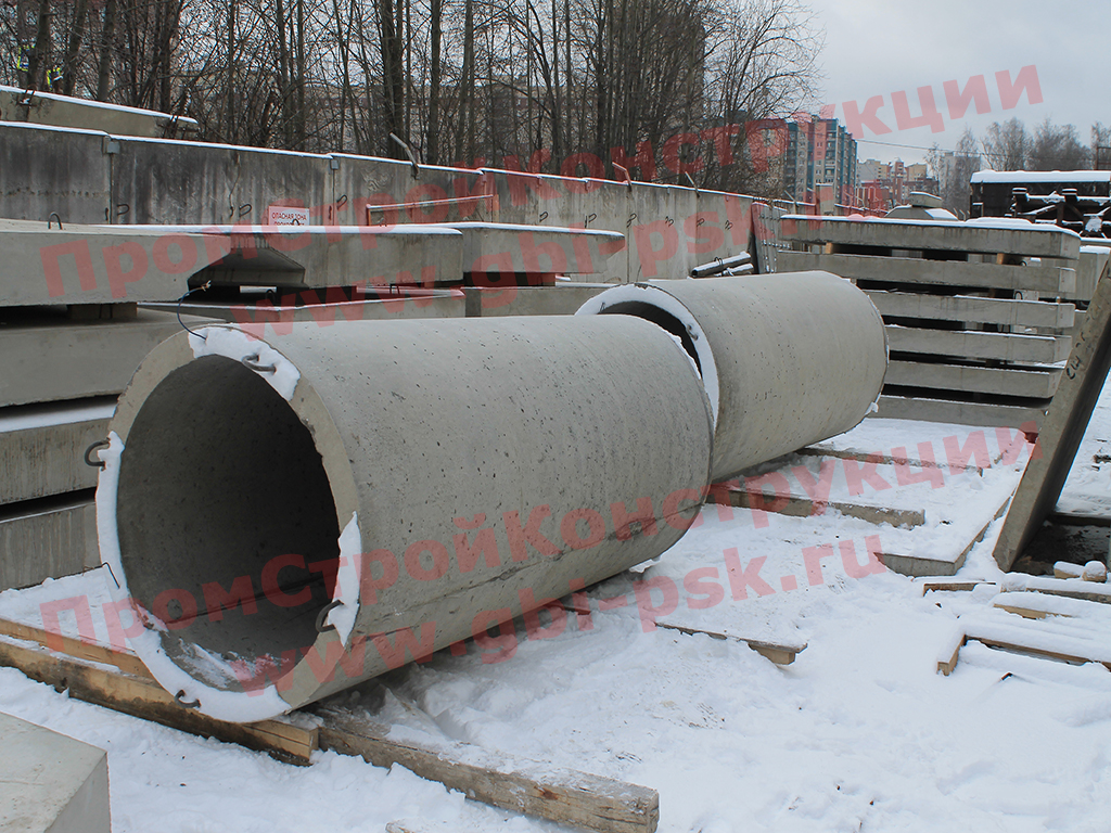 Производство звеньев ЗК3.300 круглых труб ЖБИ