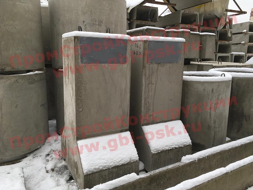 Производство железобетонных опорных блоков ОБ-2 серии 98.16.501400-101-4-Р3.1.1-26