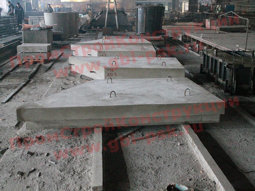 Продолжается производство откосных стенок СТ прямоугольных ЖБ труб шифра 2119РЧ