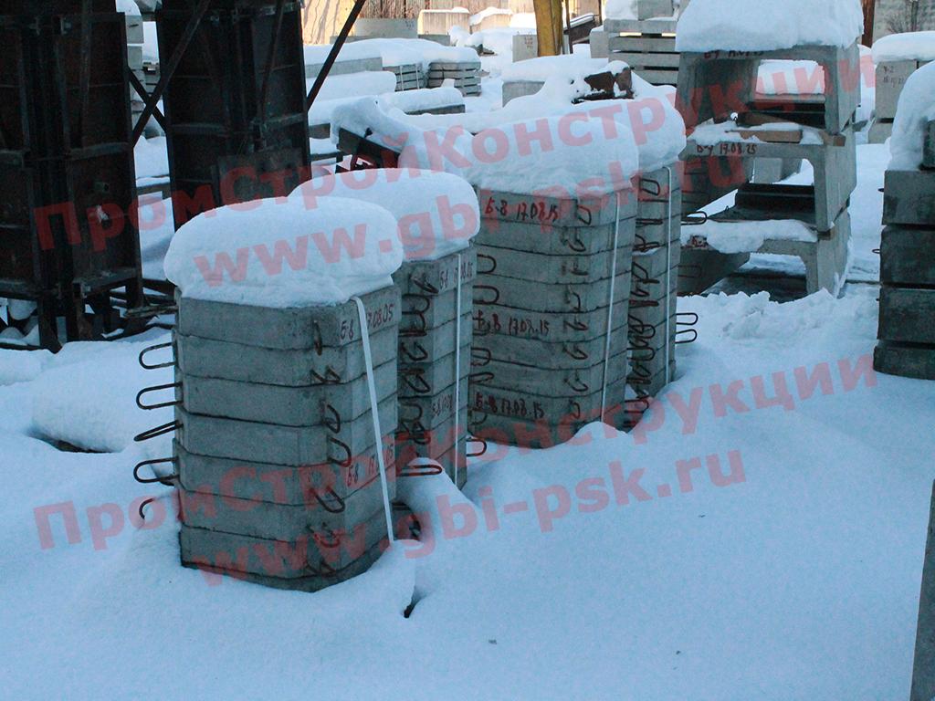 Наращиваем производство плит П-1 укрепления откосов в Санкт-Петербурге