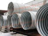 Производство металлических спиральновитых гофрированных труб СГМТ
