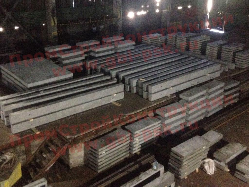 Производство ЖБ колонн в Мурманске