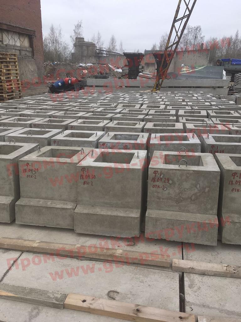 В Крыму наращивается производство ЖБИ фундаментов Ф-1 и Ф-2 для стоек эстакад