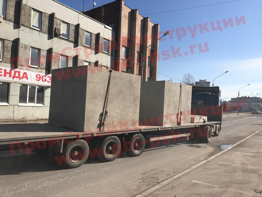 Производство и поставки крупногабаритных звеньев ЗП ЖБИ труб 2119 РЧ и другой продукции