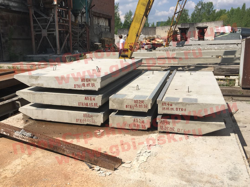 Завод ЖБИ в Санкт-Петербурге наращивает производство лестничных площадок ЛП 3.501.1-165