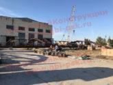 На производственной площадке ЖБИ в Крыму завершаются ремонтные работы козловых кранов
